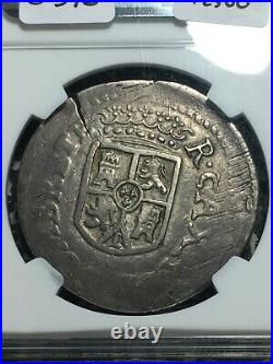 1812 Mexico War of Independence Sombrerete 8 Reales NGC XF40 Lot#G376 Silver