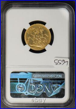 1821 Great Britain 1 Sovereign Gold Coin Ngc Au Details Lot#l655