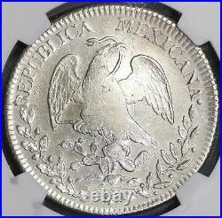 1829-Pi NGC XF Mexico 8 reales Scarce Date Potosi Mint Silver Coin (18082603C)