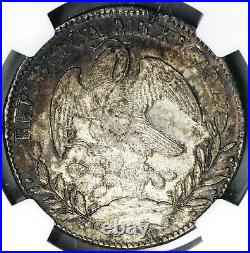 1835-Zs NGC MS 62 Mexico 8 Reales Rare Grade Mint State Silver Coin (19072603C)