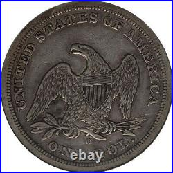 1846-O S$1 Liberty Seated Dollar NGC XF45 1st New Orleans Mint Silver Dollar