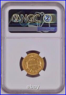1857-s Three Dollar Indian Gold Coin $3 Certified Ngc Vf30 Rare S Mint