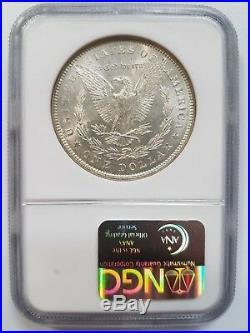 1878 7/8TF Morgan Silver Dollar NGC MS 64 Vam 33 7/4TF Toner Toned Mint Error