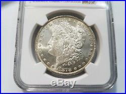 1878 7/8TF Morgan Silver Dollar NGC MS 64 Vam 41C 7/4TF & Clash Mint Error