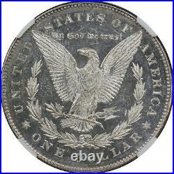 1878 7/8TF Weak $1 Silver Morgan Dollar NGC MS60DPL Tough Mint State DMPL