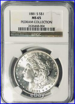 1881-S Morgan Silver Dollar NGC MS-65 Mint State 65