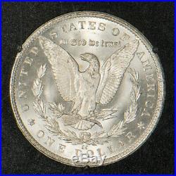 1883-CC Morgan $1 Dollar GSA Slab & CoA NGC MS 65 NICE COIN! Lot#R140