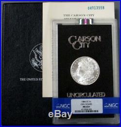 1884 CC Carson City Gsa Silver Morgan Dollar Ngc Mint State 65+
