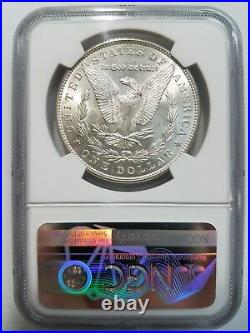 1886 Morgan Silver Dollar NGC MS 64 Vam 1A1 Line & Clash Top 100 Mint Error