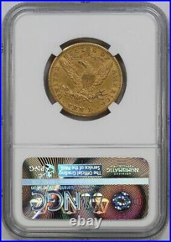 1886-S NGC $10 Liberty Head Gold Eagle AU50 Better Date/Mint Pre-33 US Coin