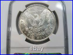 1886 Silver Morgan Dollar NGC MS 64 Vam 1C Clashed Reverse Mint Error Hot 50