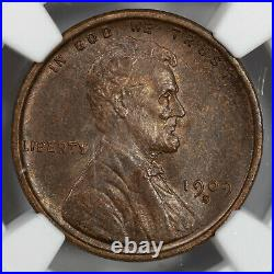 1909 S Lincoln Wheat Cent Penny 1c Ngc Ms 62 Bn Mint State Unc (002)