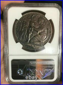1920 Wilson So Called Dollar Manila Mint Opening Medal Silver Hk-449 Ngc Ms 61