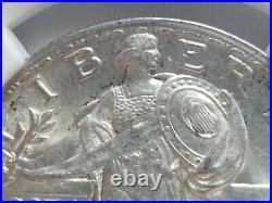 1921 Standing liberty quarter MINT ERROR NGC MS62. RARE MINT ERROR. KEY DATE