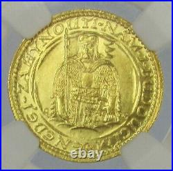 1926 Gold Czechoslovakia Ducat Ngc Mint State 66