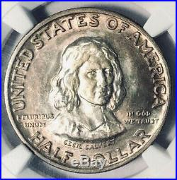 1934 Maryland Commemorative Silver Half Dollar NGC MS-64 Mint State 64 Toned