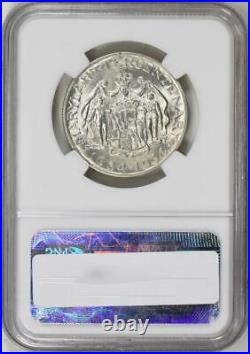 1934 Maryland Commemorative Silver Half Dollar NGC Mint State 65 MS-65