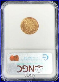 1946 B Gold Liechtenstein 10 Franken Coin Ngc Mint State 65