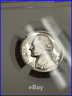 1971 NO S 5c JEFFERSON NICKEL, SCARCE COIN! NGC PROOF 67 CAMEO LOT#T562