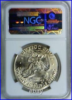 1978 Eisenhower Dollar Struck 5% Off Center Mint Error NGC MS-65 Flashy Gem