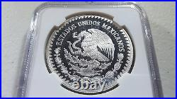1996 Mexico Libertad NGC PF68 1 oz. 999 Silver Proof Onza Only 2k minted