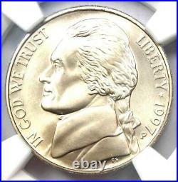 1997-P Special Mint Set SMS Jefferson Nickel 5C NGC SP70 (MS70) $450 Value
