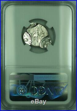 1999-D Mint Error QUADRUPLE STRUCK Roosevelt Dime 10c Coin NGC MS-66