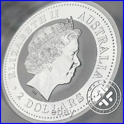 2000 NGC MS 70 Australia $2 Perth Mint Silver Lunar Dragon 2oz Coin 11 existing
