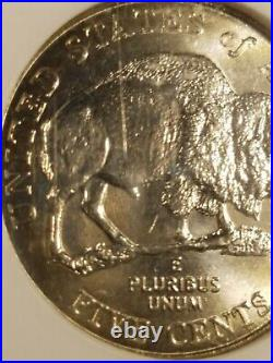 2005 D Speared Bison Ngc Ms 64 Reverse Die Gouge Mint Error