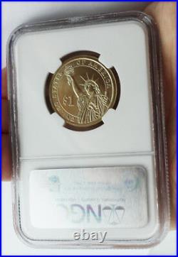 2007 $1 DOLLAR GEORGE WASHINGTON MISSING EDGE LETTERING Mint ERROR COIN MS66