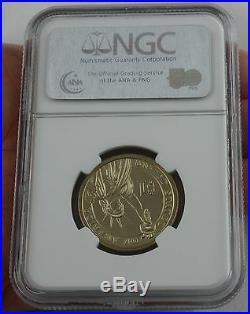 2007 $1 DOLLAR John Adams MISSING EDGE LETTERING Mint ERROR COIN MS 66 rare