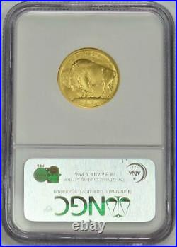 2008 W Gold $10 American Buffalo 1/4 Oz Coin Ngc Mint State 70 Early Releases