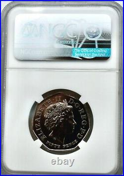 2009 Kew Gardens 50p Royal Mint Fifty Pence MS66 DPL NGC Great Britain UK BU