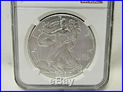 2015-(p) Silver Eagle Ngc Ms69 Struck At Philadelphia Mint 1 Of 79,640 Struck