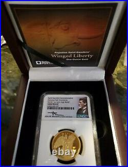 2016 Winged Liberty Gold 1 oz High Relief NGC GEM PROOF, ONLY 1,000 MINTED