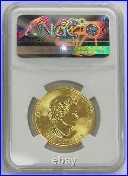 2017 Gold Canada 1 1/2 Oz Megaleaf $150 Maple Leaf Coin Ngc Mint State 65
