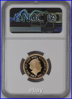 2017 Gold Proof Full Sovereign Royal Mint NGC PF70 ULTRA CAMEO Pistrucci 200th
