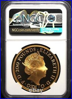 2019 Royal Mint The Great Engravers Una and the Lion Gold 2oz NGC-PF70