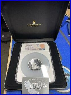 2019P High Relief Perth Mint Wedge-Tailed Eagle PF70 Ultra Cameo 5Oz $8