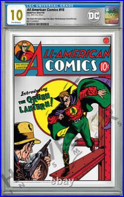 2020 DC Comics All American Comics #16 Premium Silver Foil Cgc 10 Gem Mint