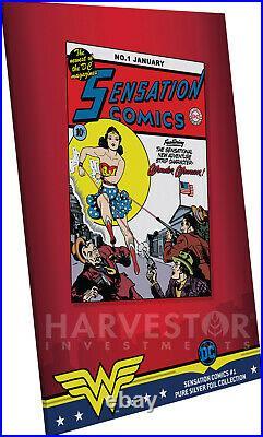 2020 DC Comics Sensation Comics #1 Premium Silver Foil Cgc 10 Gem Mint