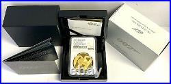 2020 Gold Proof James Bond Pay Attention £200 Pounds NGC PF70UCAM Royal Mint Box