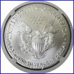 2020 (P) $1 Silver American Eagle MINT ERROR Weakly Struck NGC MS69 Emergency Pr
