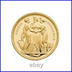 2020 Royal Mint Three Graces Gold Proof 2 ounce NGC PF70UC COA and original box