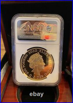 2020 Royal Mint Three Graces Gold Proof Two Ounce 2oz NGC PF70 First Release