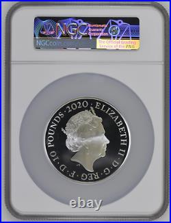 2020 Royal Mint Three Graces Silver Proof Five Ounce 5oz NGC PF70 FIRST RELEASE