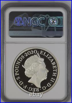 2020 Royal Mint Three Graces Silver Proof Two Ounce 2oz NGC PF69 First Release