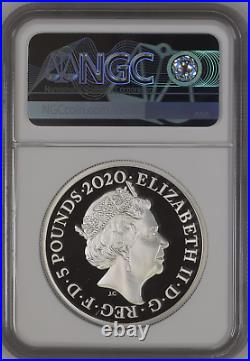2020 Royal Mint Three Graces Silver Proof Two Ounce 2oz NGC PF70 UCAM First Rele