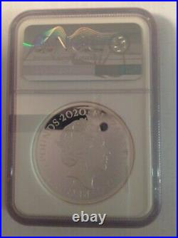 2020 The Three Graces Royal mint Silver proof 2oz coin NGC PF69 UCAM