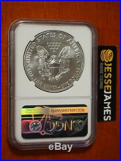 2020 W Burnished Silver Eagle Ngc Ms70 Er Mercanti Signed Mint Engravers Series